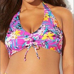 Swimsuits For All NWT Maven Sarasota Bikini Top,14